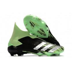 adidas Predator 20+ FG/AG Black Green White