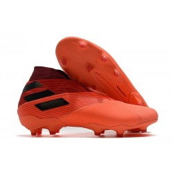 adidas Nemeziz 19+ FG News Signal Coral Core Black Glory Red
