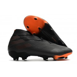 adidas Nemeziz 19+ FG News Boot Core Black Signal Orange