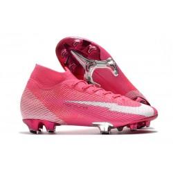Nike Mercurial Superfly 7 Elite FG X Mbappe Pink Blast White Black