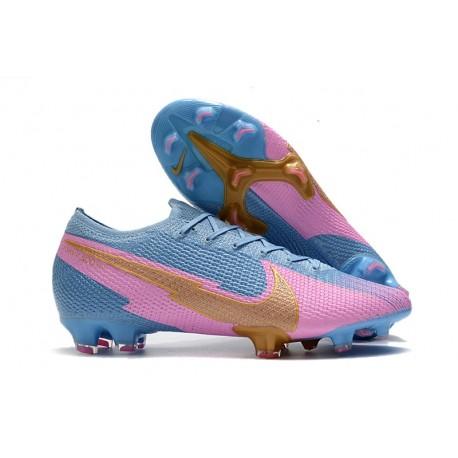 Nike Mercurial Vapor XIII Elite 360 FG Blue Pink Gold