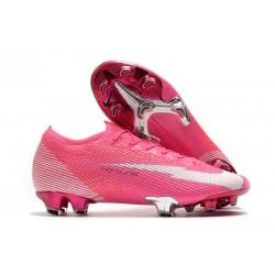 Nike Mercurial Vapor XIII Elite FG Mbappé Rosa -Pink Blast White Black