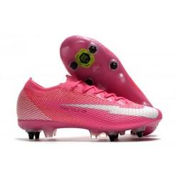 Nike Mercurial Vapor 13 Elite SG X Mbappe Pink Blast White Black