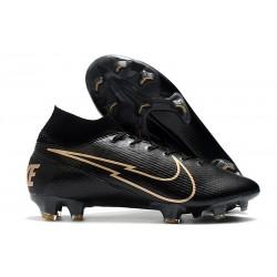 Nike 2020 News Mercurial Superfly VII Elite FG Black Gold