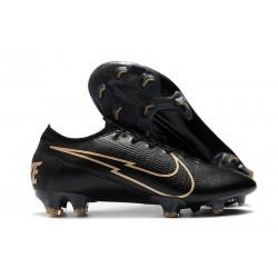 Nike Mercurial Vapor XIII Elite 360 FG Leather Black Golden