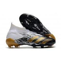 adidas Predator Mutator 20.1 Firm Ground Boots White MetGold