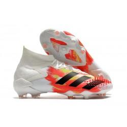 adidas Predator Mutator 20.1 Firm Ground Boots White PopOrange