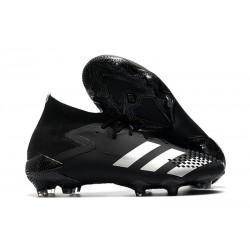 adidas Predator Mutator 20.1 Firm Ground Boots Black Silver
