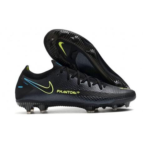 Nike Phantom GT Elite FG Firm-Ground Black Yellow