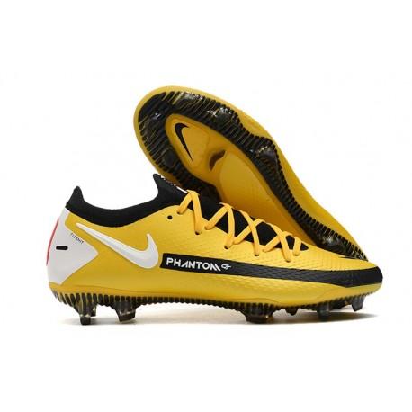 Nike Phantom GT Elite FG Firm-Ground Yellow Black White
