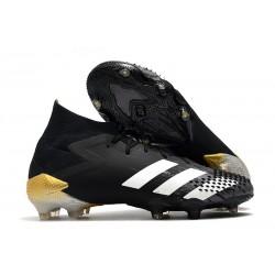 adidas Predator Mutator 20.1 Fg Boots Core Black White Gold Metallic