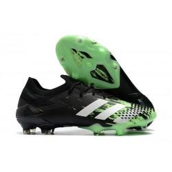 adidas Predator 20.1 Mutator Low Cut FG Signal Green White Core Black