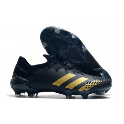 New adidas Predator 20.1 Mutator Low FG Black Gold