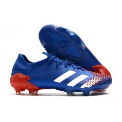 New adidas Predator 20.1 Mutator Low FG Blue White Orange