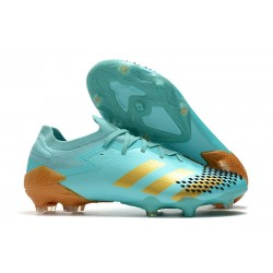 New adidas Predator 20.1 Mutator Low FG Blue Golden