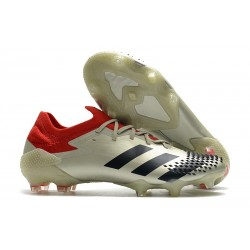 New adidas Predator 20.1 Mutator Low FG White Black Red