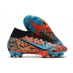Nike Mercurial Superfly 7 Elite DF FG F.C. Mexico City Orange Blue