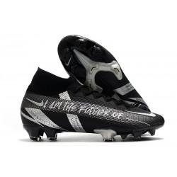 Nike Mercurial Superfly 7 Elite DF FG Boots Future Black Silver
