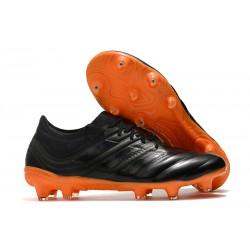 New Adidas Copa 19.1 FG Soccer Boots - Core Black Signal Orange