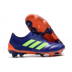 New Adidas Copa 19.1 FG Soccer Boots - Purple Green