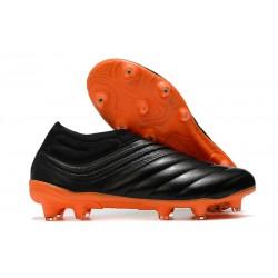 adidas Copa 20+ FG Soccer Cleats Black Orange