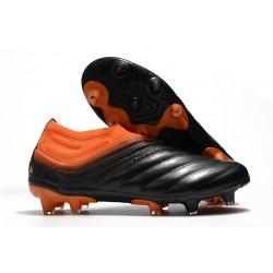 adidas Copa 20+ FG Soccer Cleats Core Black Signal Orange