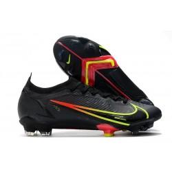 Nike Mercurial Vapor 14 Elite FG Soccer Cleats Black Cyber Off Noir