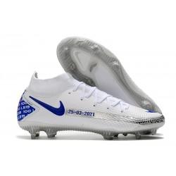 New Mens Nike Phantom GT Elite DF FG White Blue