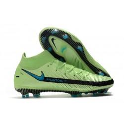 New Mens Nike Phantom GT Elite DF FG Green Black Blue