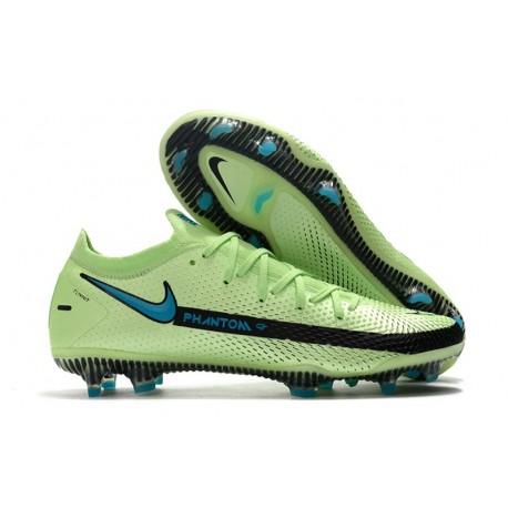 Nike Phantom GT Elite FG Firm-Ground Impulse - Lime Glow Aquamarine