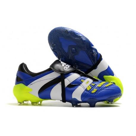 adidas Predator Accelerator FG Soccer Cleats - Blue White Volt