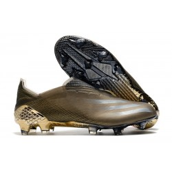adidas X Ghosted FG Cleats Grey