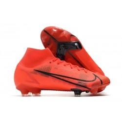 News Nike Mercurial Superfly VIII Elite FG Red Black