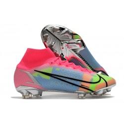 News Nike Mercurial Superfly VIII Elite FG Pink Blue Green