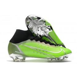 Nike Mercurial Superfly 8 Elite FG Green Silver