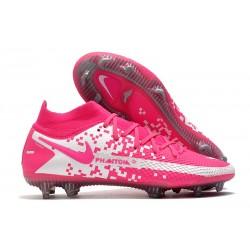 New Mens Nike Phantom GT Elite DF FG Pink Blast White