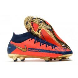 New Mens Nike Phantom GT Elite DF FG Orange Blue Golden