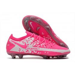 New Nike Phantom GT Elite FG Pink White