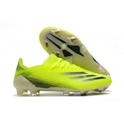 adidas X Ghosted.1 Firm Ground Solar Yellow Core Black