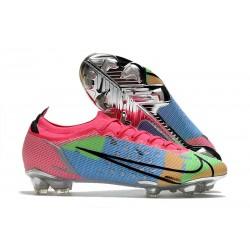 New Nike Mercurial Vapor XIV Elite FG Blue Pink Volt