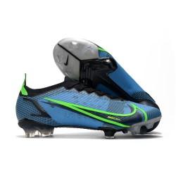 New Nike Mercurial Vapor XIV Elite FG Blue Green Black