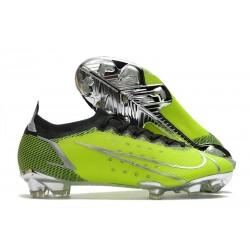 New Nike Mercurial Vapor XIV Elite FG Green Silver