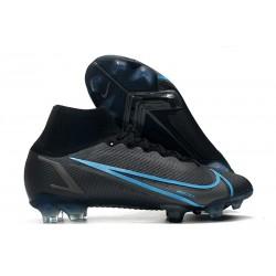 Nike Mercurial Superfly 8 Elite FG Black Iron Grey