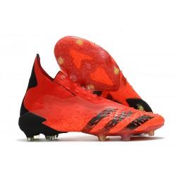 adidas Predator Freak + FG 'Meteorite Pack' Red Core Black Solar Red