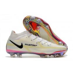 Nike Phantom GT II Elite DF FG White Black Bright Crimson Pink Blast