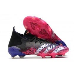 adidas Predator Freak.1 FG Core Black White Shock Pink