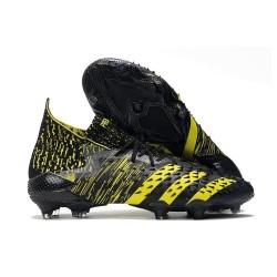 adidas Predator Freak.1 FG Boots Black Yellow
