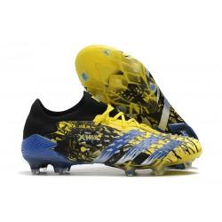 Low-cut adidas Predator Freak .1 FG X-Men Wolverine - Bright Yellow/Silver Metallic/Core Black