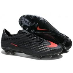 Nike HyperVenom Phantom FG Men's Firm Ground Soccer Boots Charcoal Crimson
