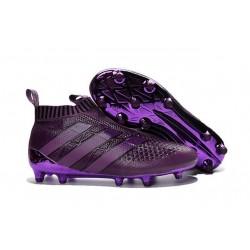 New 2016 adidas Ace16+ Purecontrol FG Soccer Boots Dark Purple